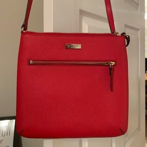 Red Crossbody and Wallet - New Without Tags
